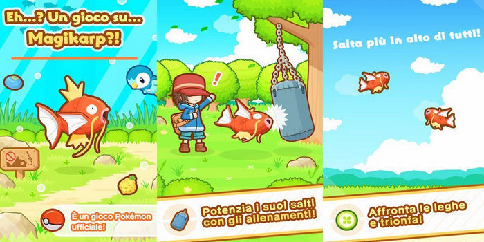 Magikarp Jump: Novo jogo para celular Pokémon 2