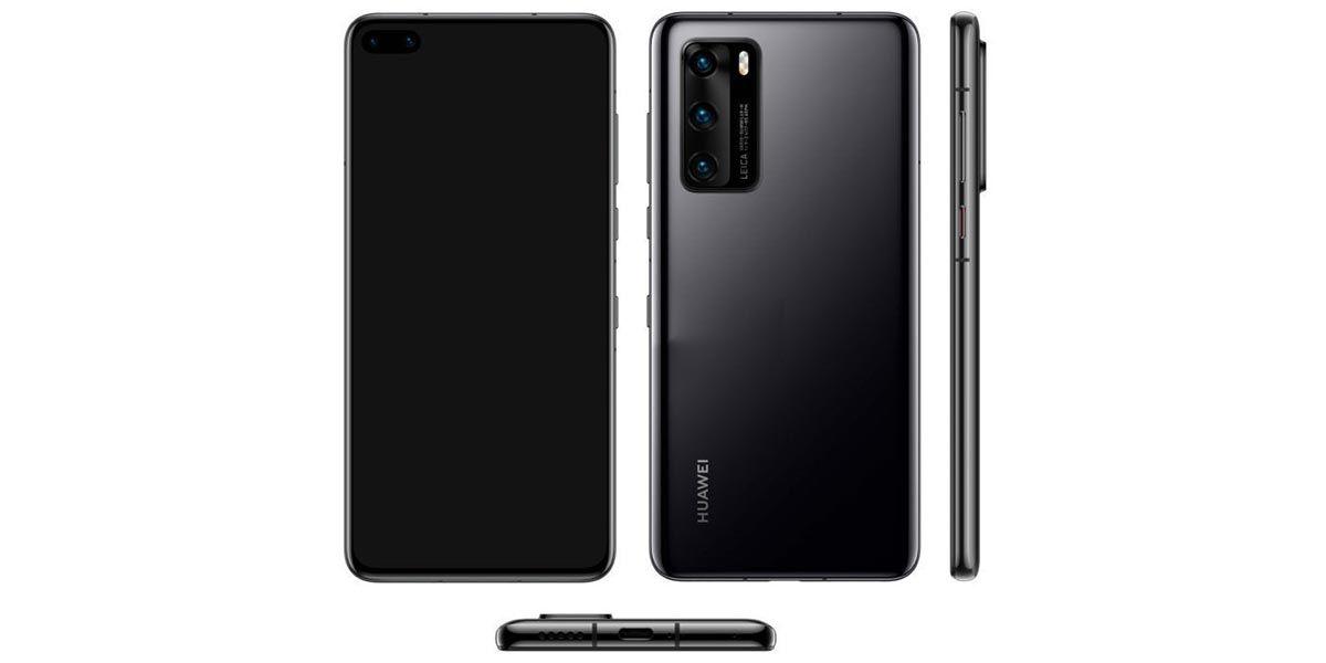 O Huawei P40 chegará com uma câmera tripla, uma câmera selfie dupla e sem aplicativos do Google