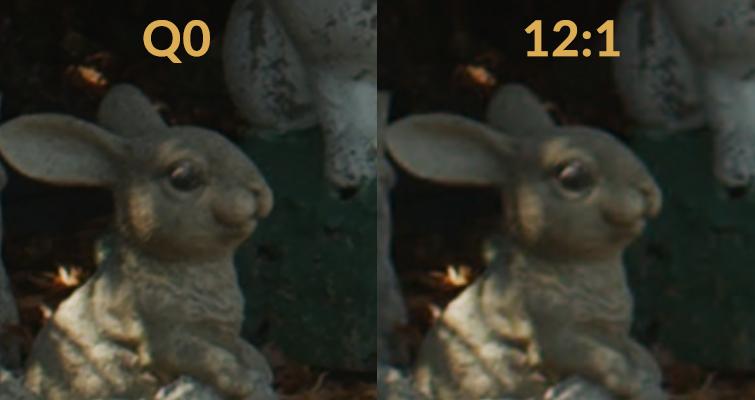 Dicas BMPCC4K: A diferença entre o uso de taxa de bits constante vs.  Qualidade constante - Comparações brutas de BMD