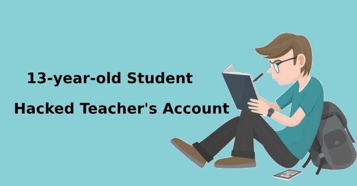 Estudante de 13 anos invadiu a conta dos professores para roubar dados dos alunos
