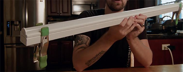 Hacks de engrenagem: faça sua própria barra de luz LED DIY - primeiro passo