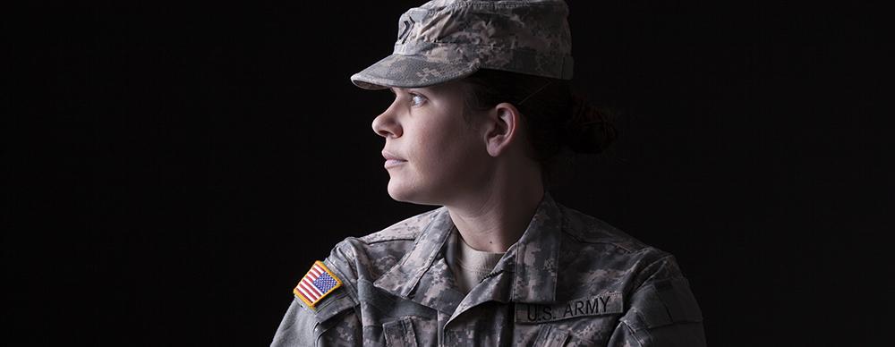 Iluminação discreta: Exército