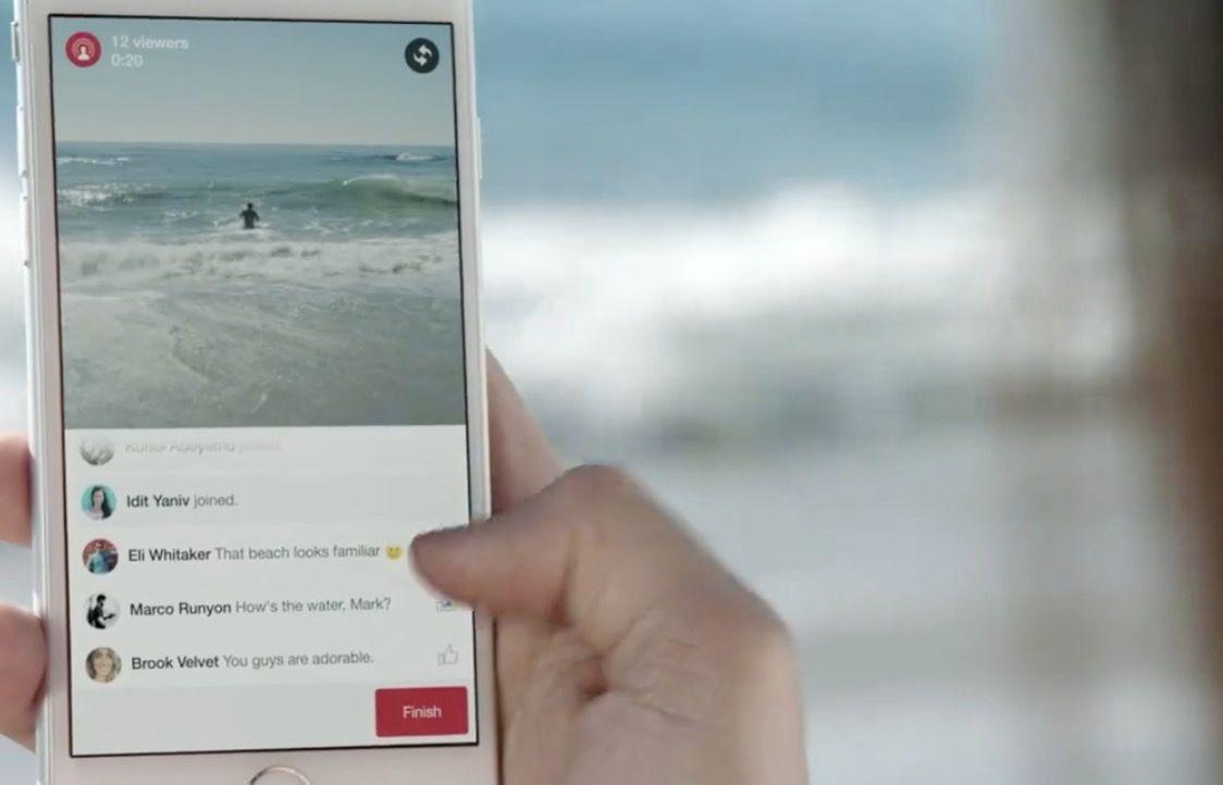 Facebook quer que transmitamos vídeos ao vivo