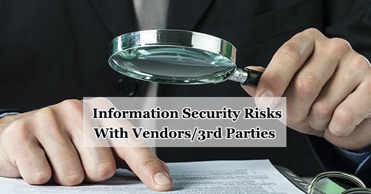Riscos de segurança da informação que você precisa ter cuidado com fornecedores / terceiros
