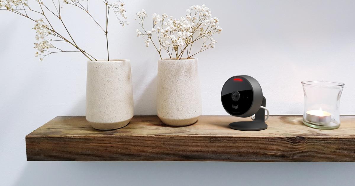 A nova câmera Circle View da Logitech vem com controles de privacidade integrados