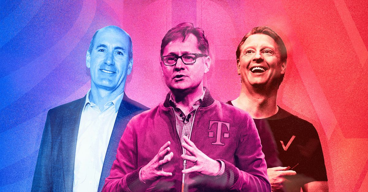 A nova classe de CEOs da Verizon, AT&T e T-Mobile