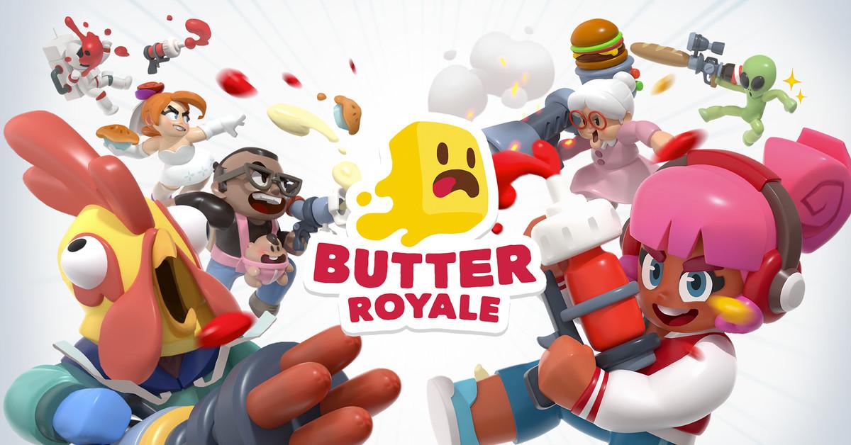 Apple O jogo mais recente do Arcade é mais familiar Fortnite chamado Butter Royale