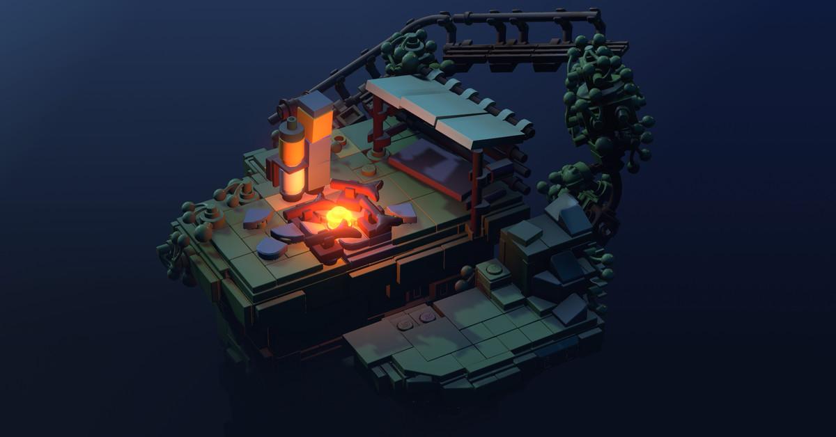 Apple O mais novo jogo do Arcade é como Monument Valley com Lego