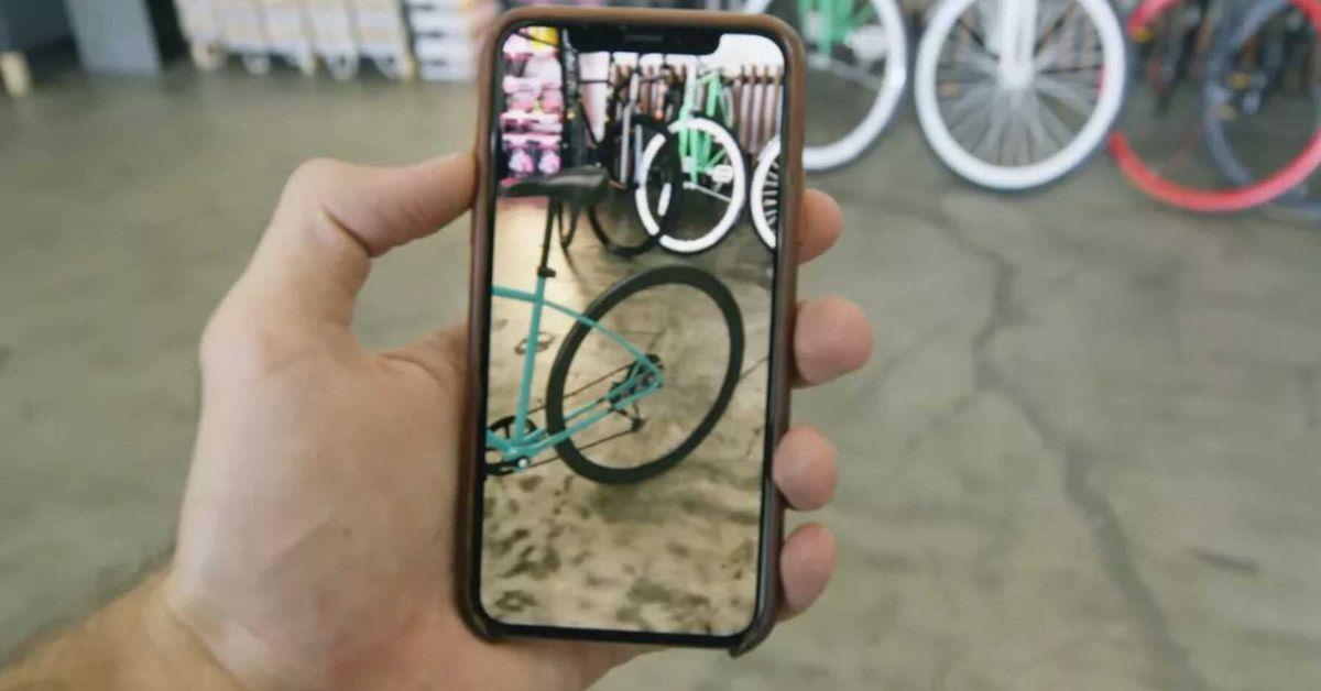 Apple agora permite que você compre diretamente em realidade aumentada 1