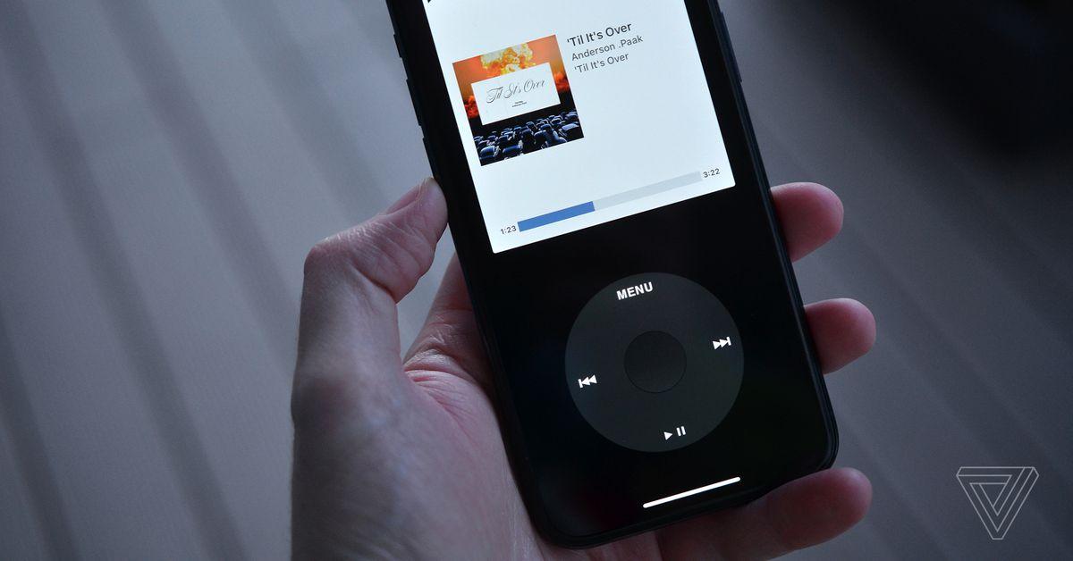 Apple puxa aplicativo que permite transformar seu telefone em um iPod virtual com click wheel