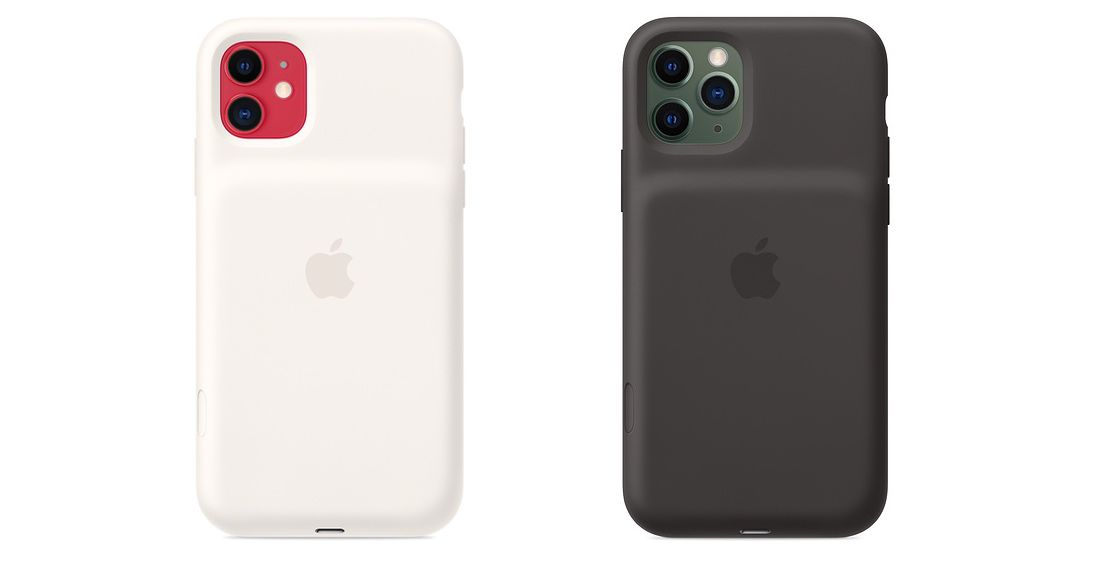 AppleOs novos estojos de bateria do iPhone têm um botão físico de atalho para a câmera