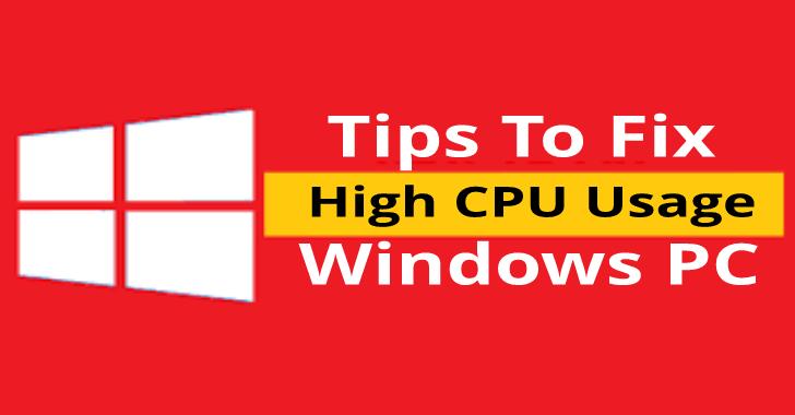 As melhores dicas para corrigir problemas de alto uso da CPU Windows PC