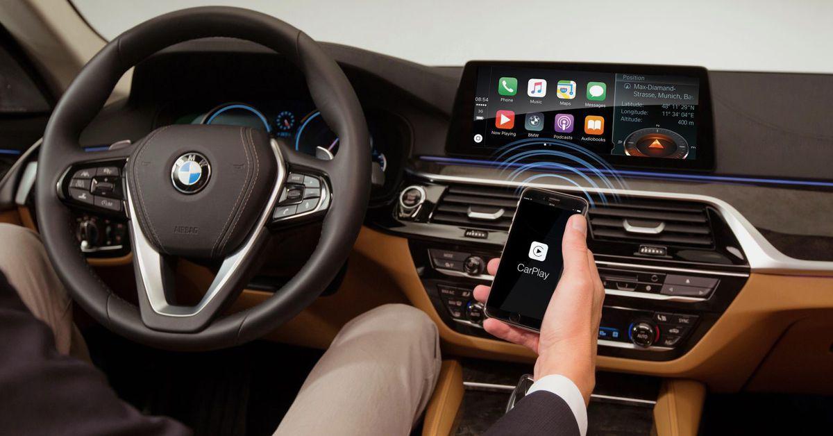BMW reverte decisão de cobrar dos proprietários de veículos uma taxa anual para uso Apple CarPlay