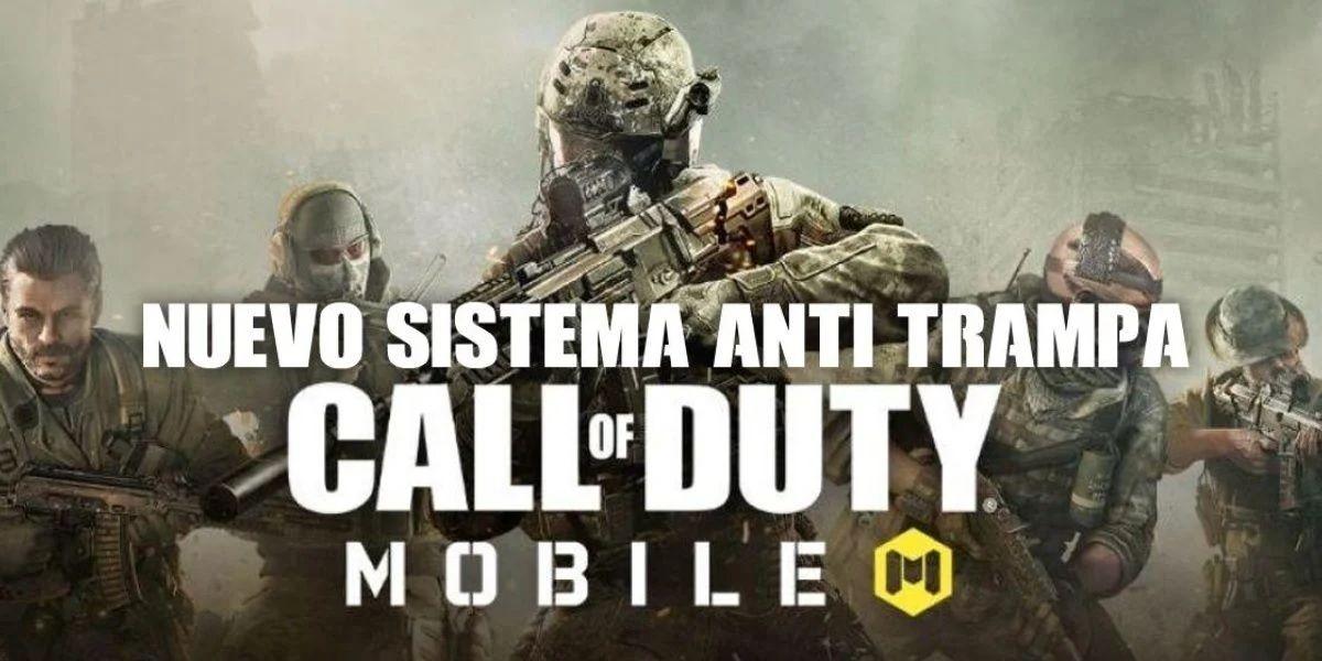 Call of Duty Mobile proibirá truques para sempre