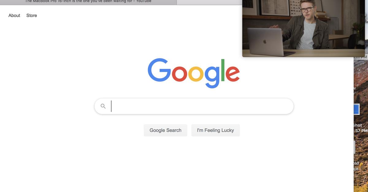 Como ativar a imagem na imagem para YouTube no seu Mac