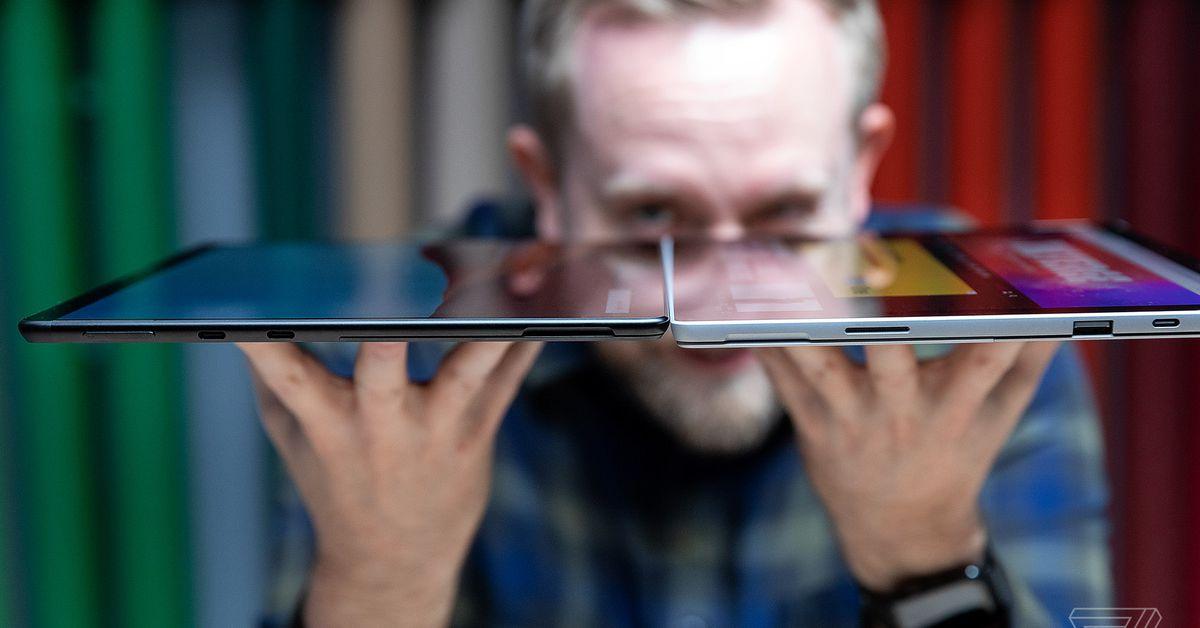 Como escolher entre o Surface Pro X e o Surface Pro 7