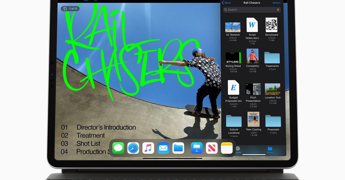 Como o novo iPad Pro se compara ao novo MacBook Air
