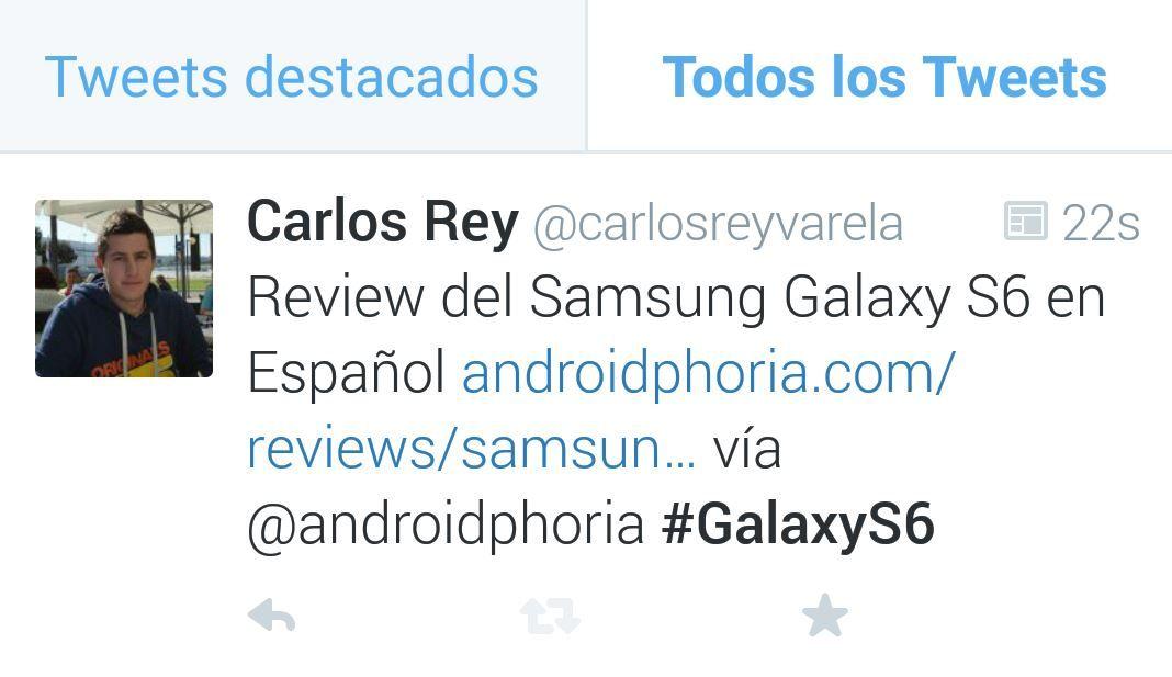 Tendências de Twitter no Android