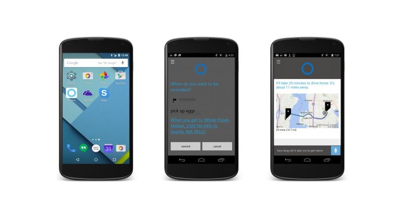 Cortana está chegando para Android e iPhone