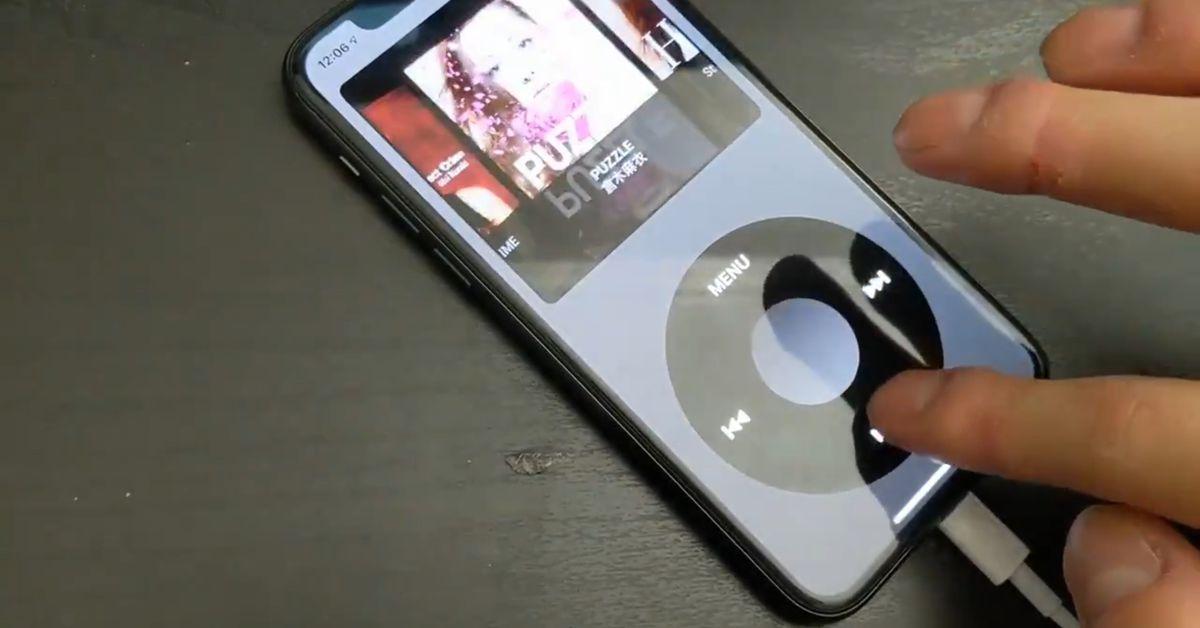 Este aplicativo para iPhone deixará você nostálgico para a roda de clique do iPod 1