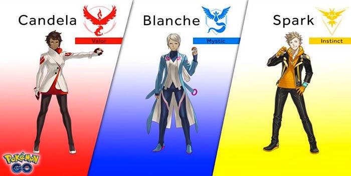 Líderes de equipe Pokemon