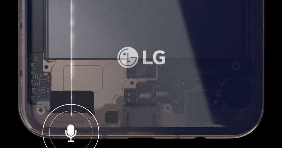 Imagens vazadas parecem mostrar as quatro câmeras do LG V60 ThinQ e uma grande bateria