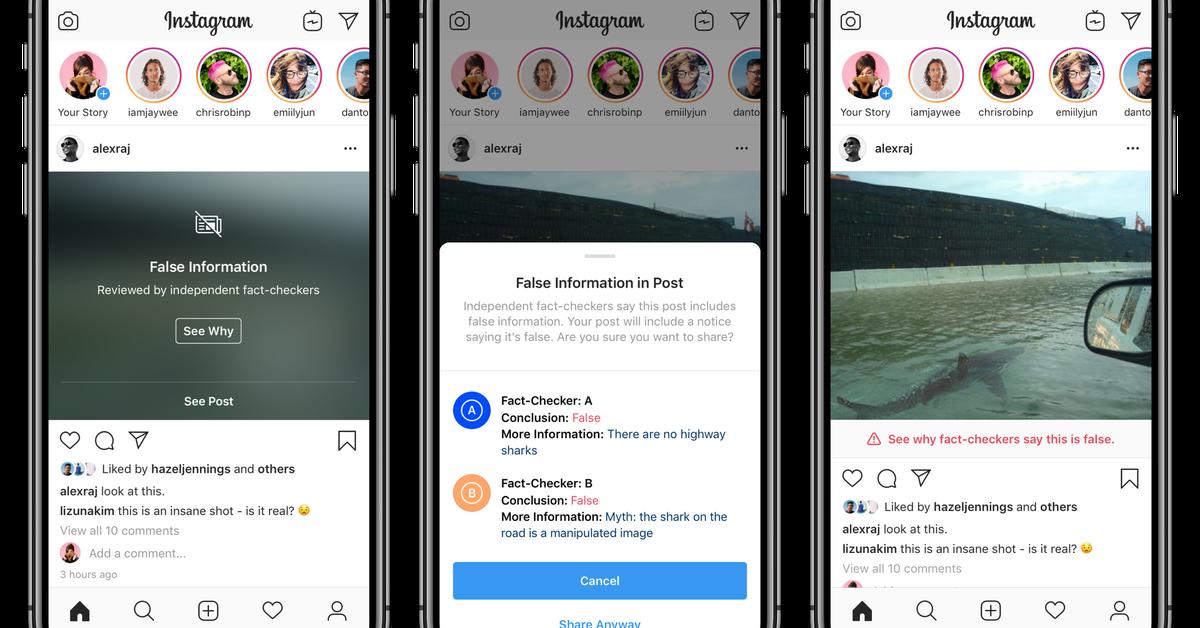 Instagram está escondendo imagens falsas e pode prejudicar artistas digitais 1