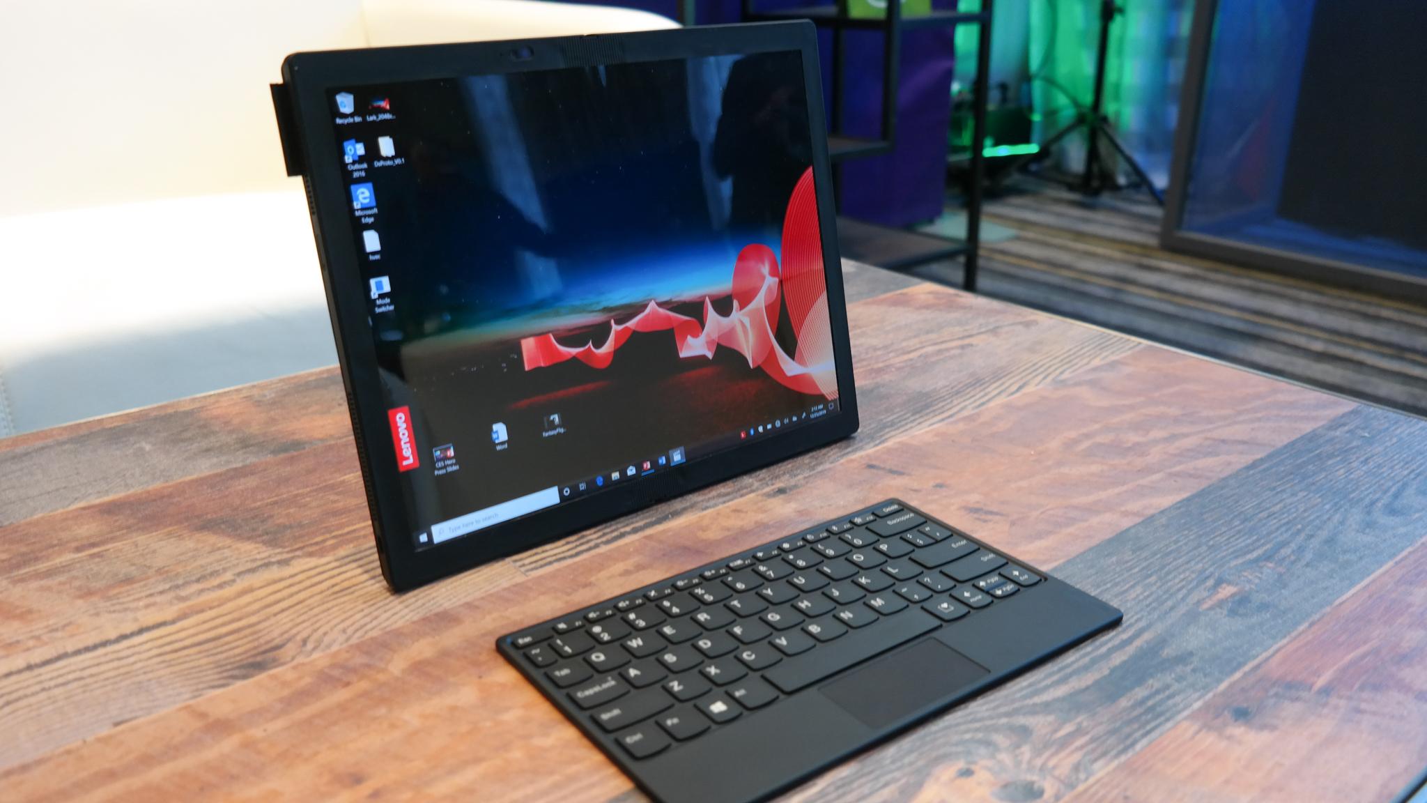 Lenovo ThinkPad X1 Fold review: Hands on com o laptop mais revolucionário da CES 2020