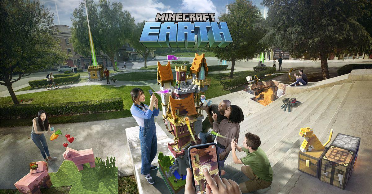 Minecraft Earth vai um passo além do Pokémon Go para cobrir o mundo em blocos 1