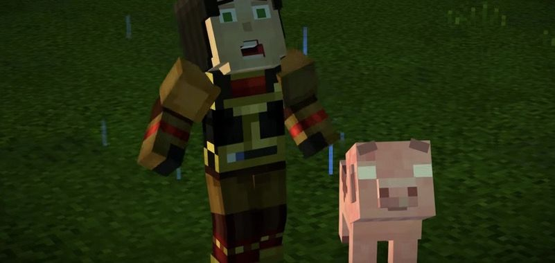 Minecraft: Story Mode: um bloco e um lugar difícil …