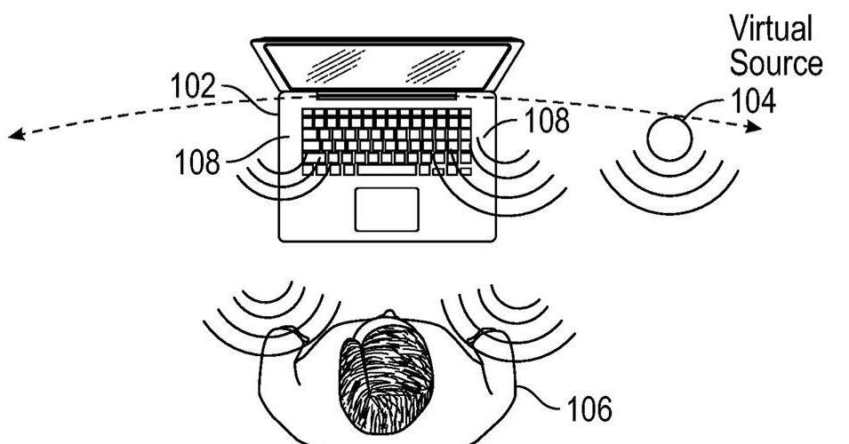 Novo Apple patente imagina caixas de som virtuais que podem simular som de qualquer lugar da sala