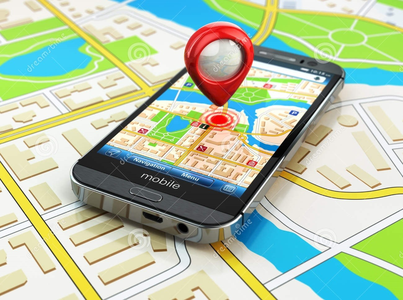 Novo chip da Broadcom fornece 10 vezes localização precisa de rastreador GPS para smartphone
