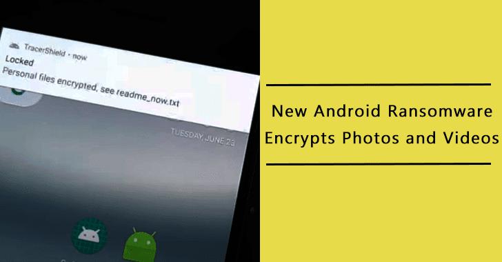 Novo ransomware ataca dispositivos Android criptografa fotos e vídeos que se apresentam como aplicativo de rastreamento COVID-19