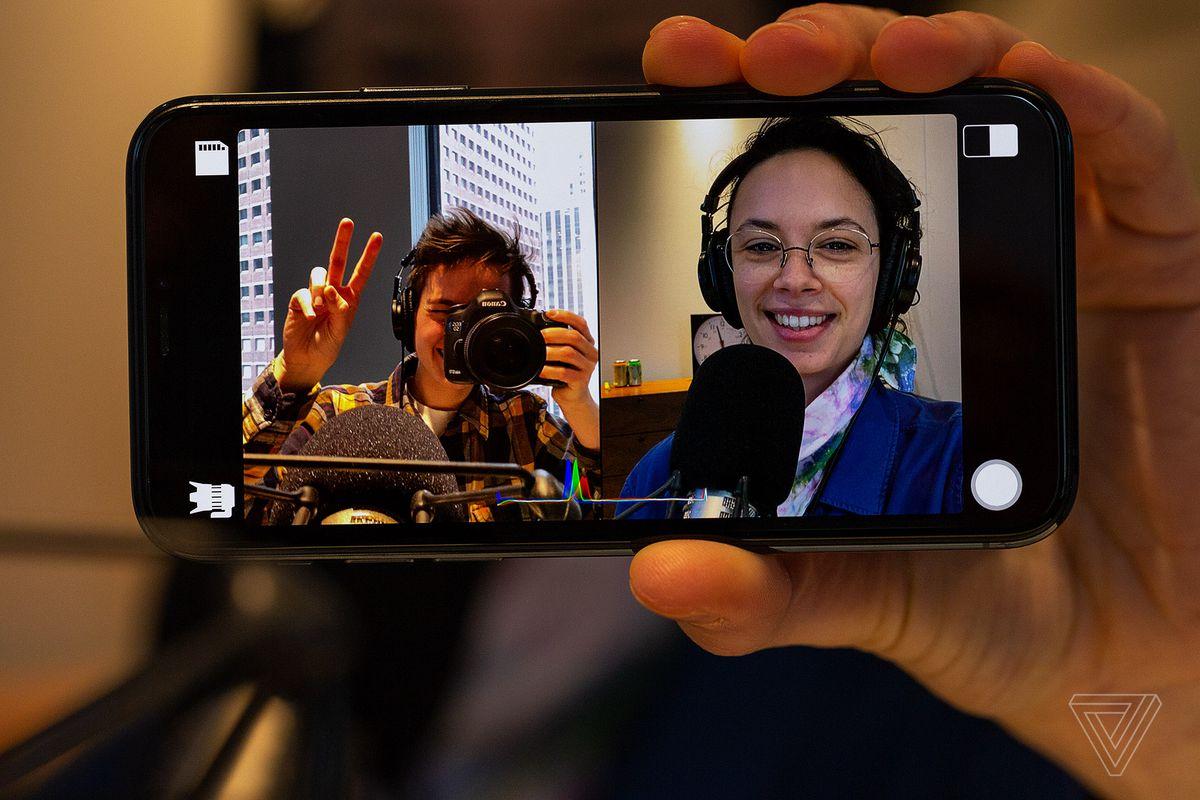 O Filmic DoubleTake permite gravar a partir de duas câmeras do iPhone ao mesmo tempo 2