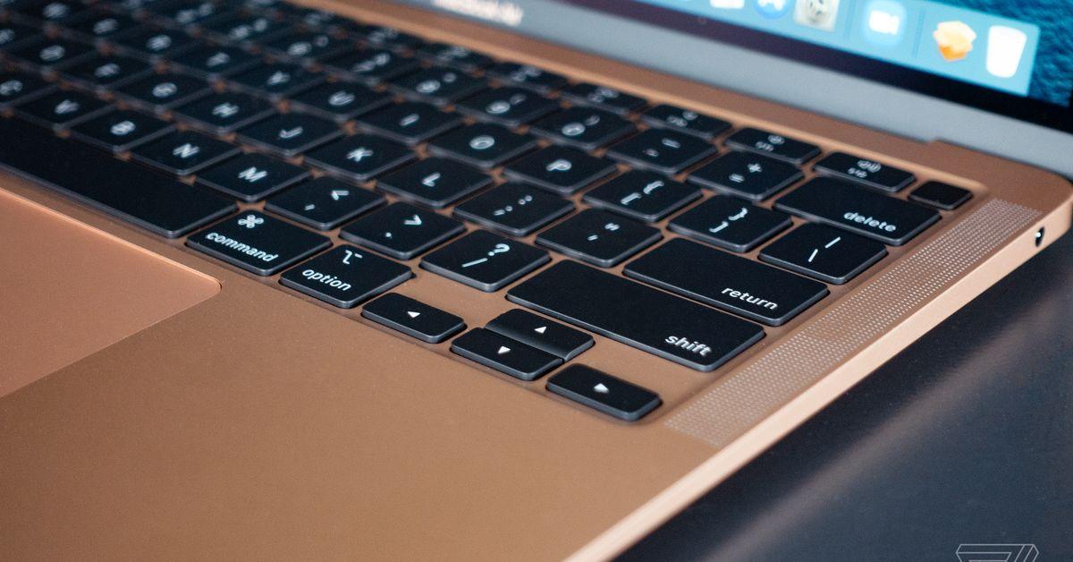 O MacBook Air: restaurar padrão