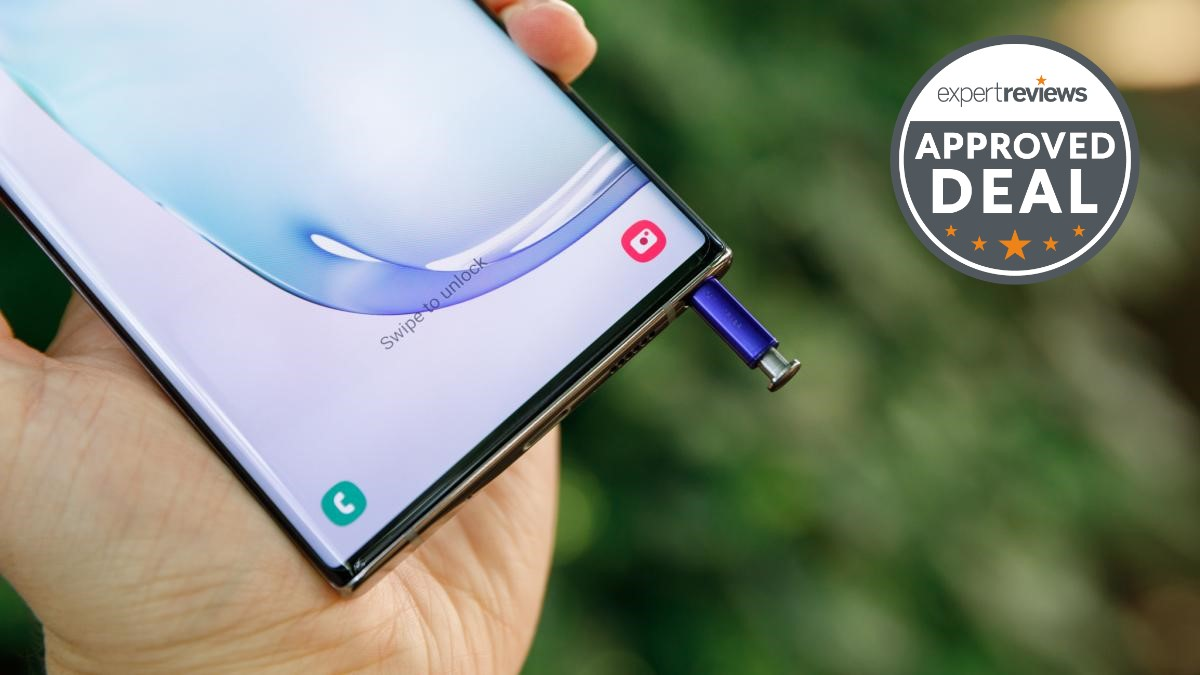 O Samsung Galaxy Note Plus 10 5G está super barato agora