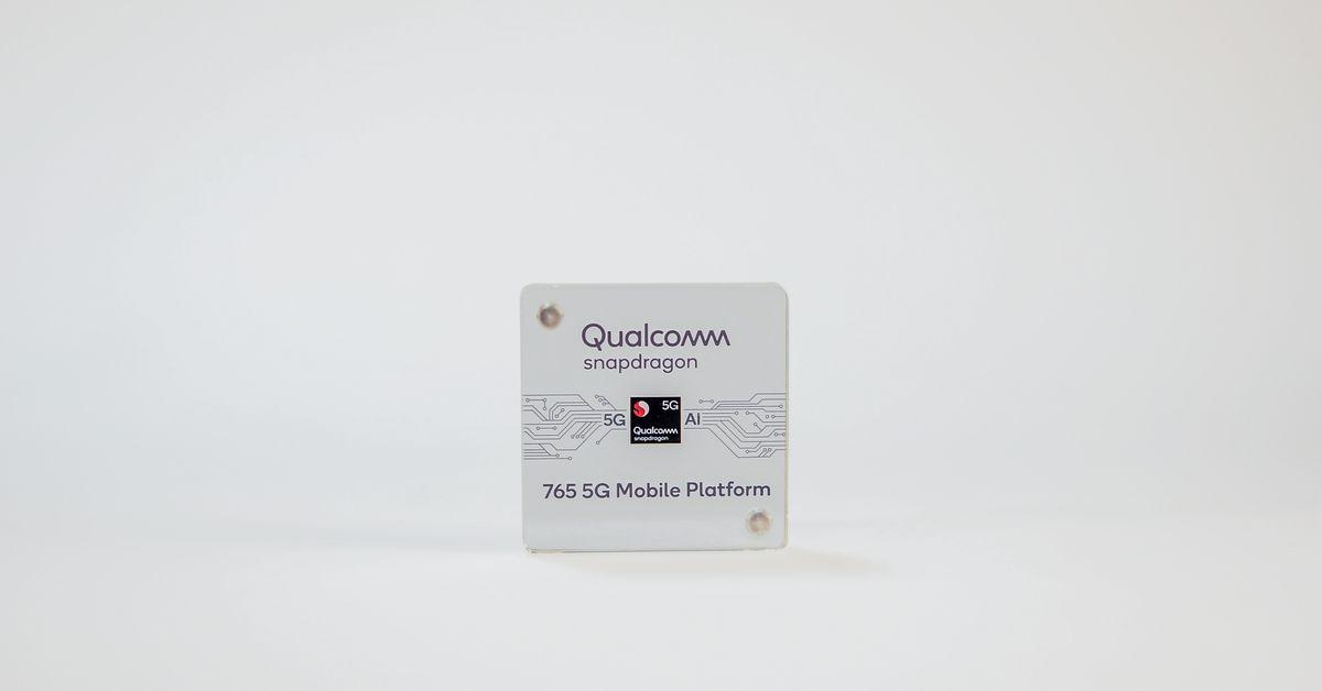 O chip Snapdragon 765 da Qualcomm pode inaugurar os primeiros telefones 5G acessíveis 1