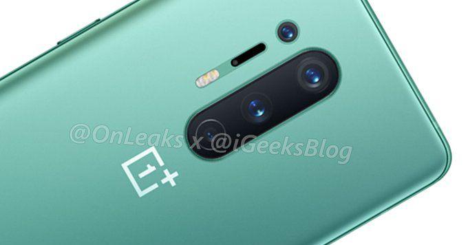 OnePlus 8 O Pro pode vir em um liso esverdeado verde e finalmente ter carregamento sem fio