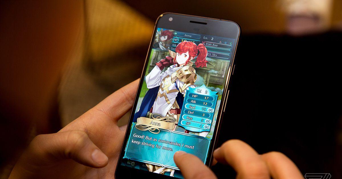 Os jogos para celular da Nintendo ganharam mais de US $1 bilhões, principalmente graças ao Fire Emblem Heroes