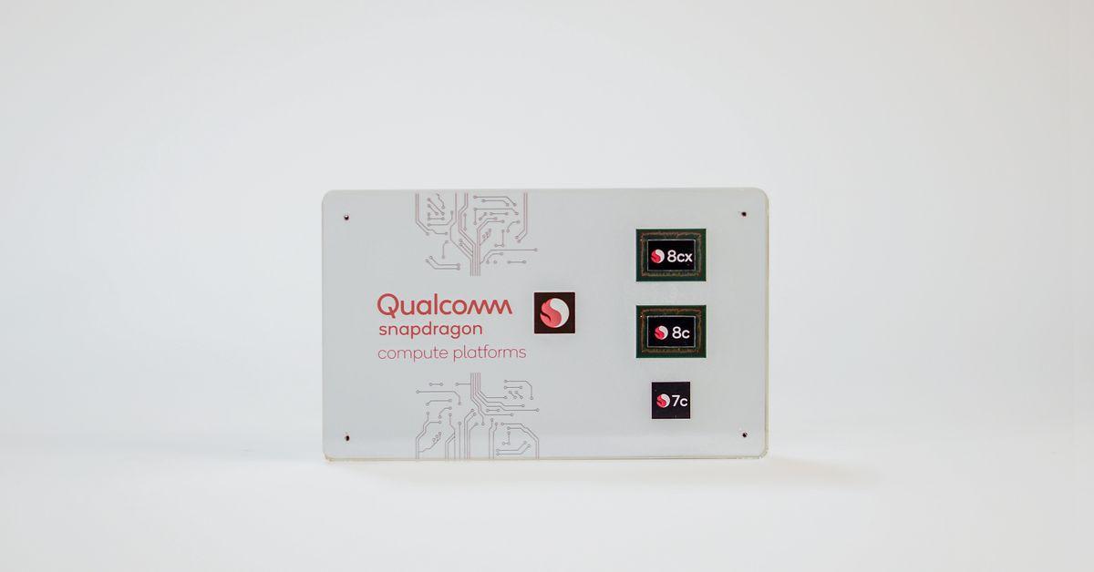 Os novos processadores Snapdragon 8c e 7c da Qualcomm fornecerão laptops ARM mais baratos