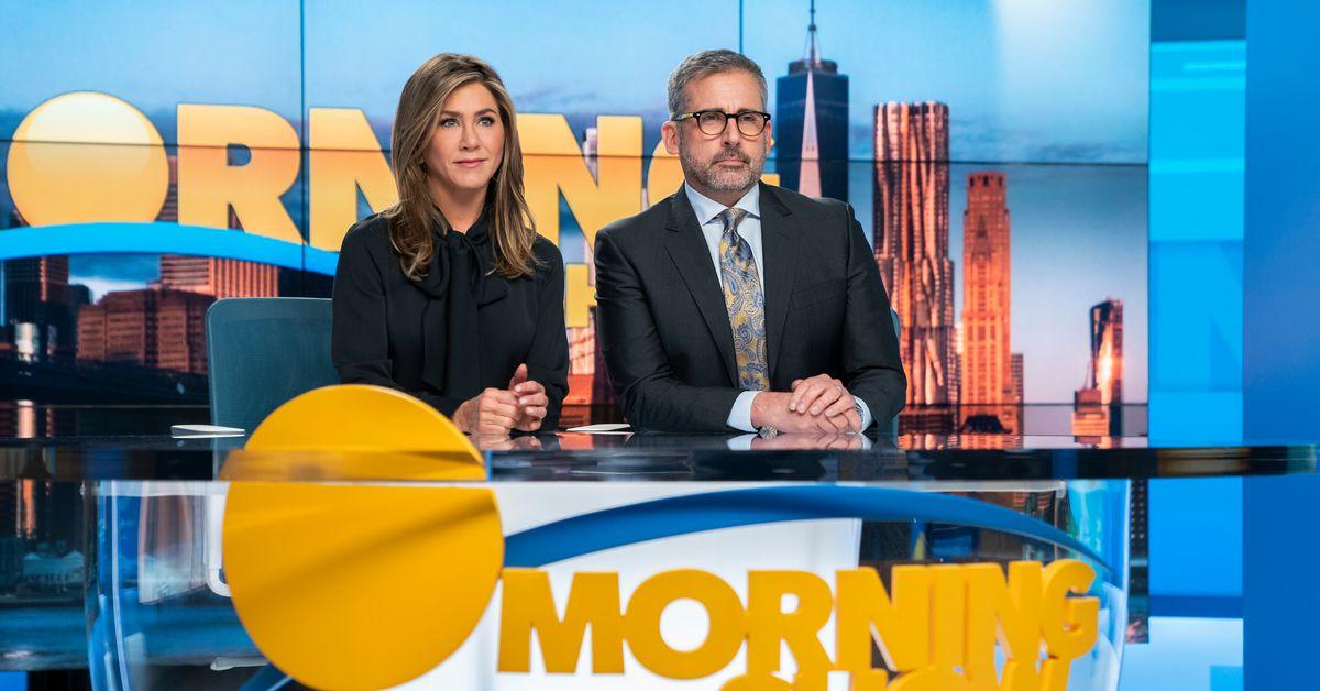 Os produtores executivos do Morning Show acharam que as críticas iniciais foram um ataque a Apple' 1