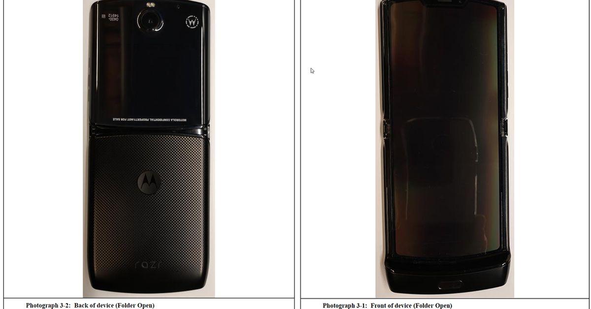 Razr dobrável da Motorola vaza novamente apenas algumas horas antes do evento oficial de lançamento 1