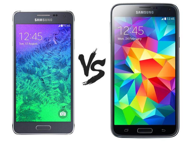 Samsung Galaxy S5 vs Samsung Galaxy Alfa – qual é o melhor?