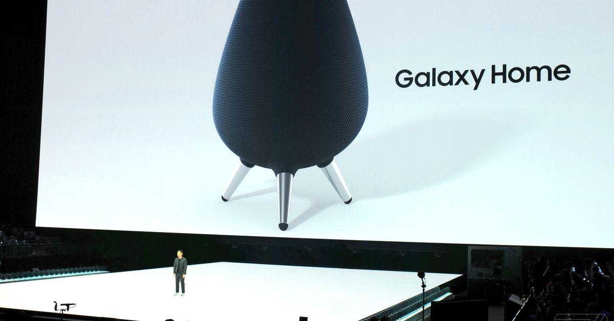 Samsung anuncia Galaxy Alto-falante doméstico com assistente inteligente Bixby