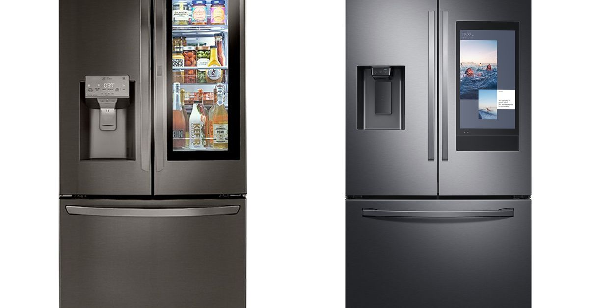 Samsung e LG enfrentam frigoríficos baseados em IA que reconhecem alimentos