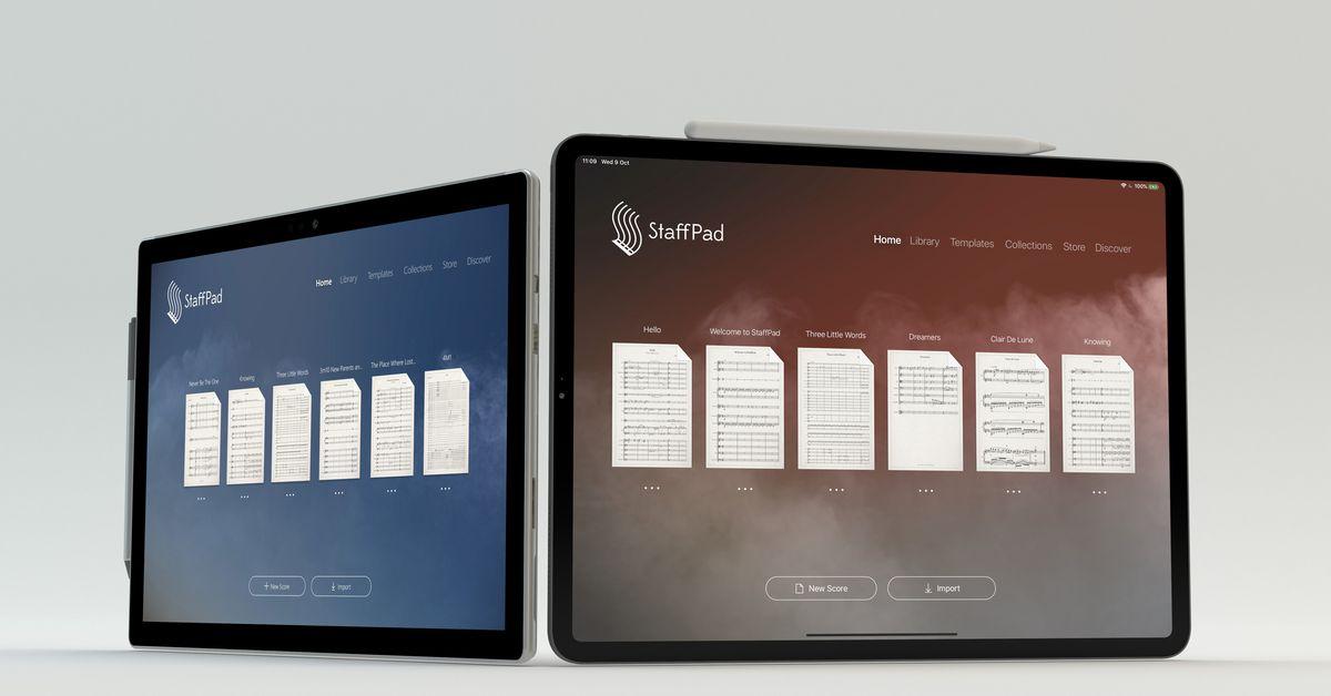 StaffPad, um impressionante Windows aplicativo de composição musical, já está disponível no iPad 1