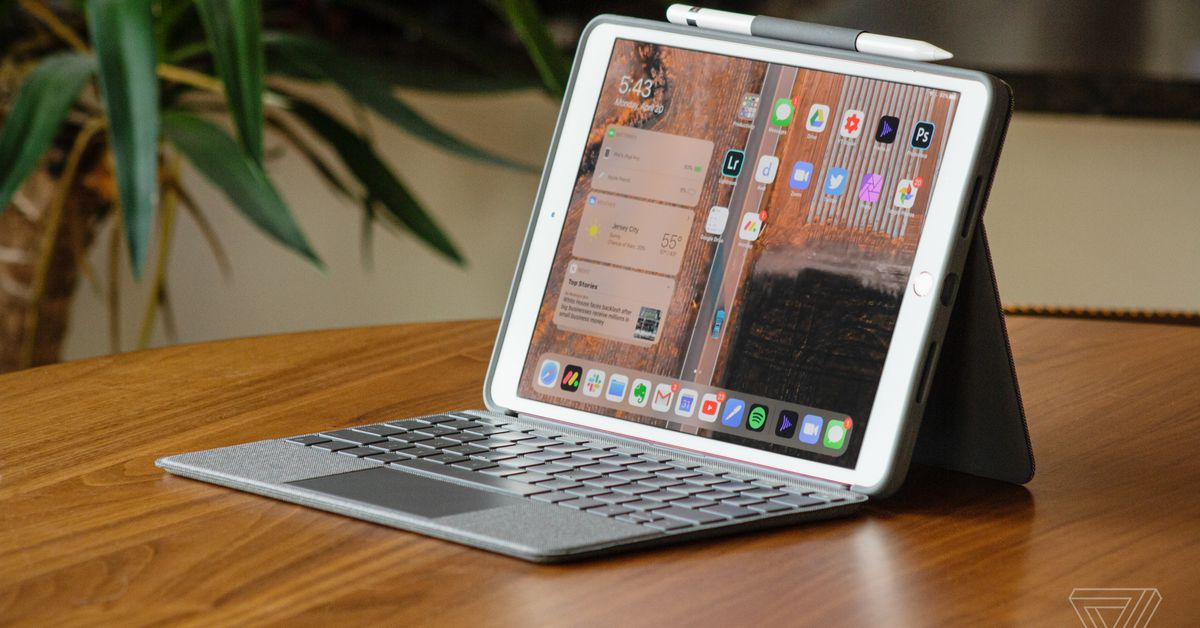 Transforme seu iPad ou iPad Air em um laptop
