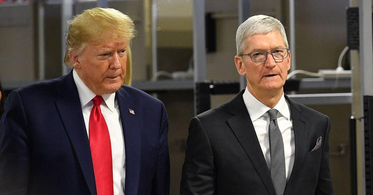 Trump está mentindo sobre o 'novo'AppleFábrica 1