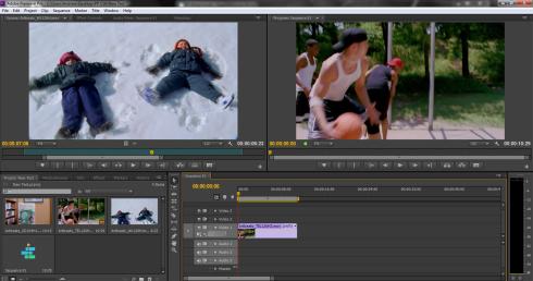 Visualização rápida: o espaço de trabalho do Premiere Pro CS6 2