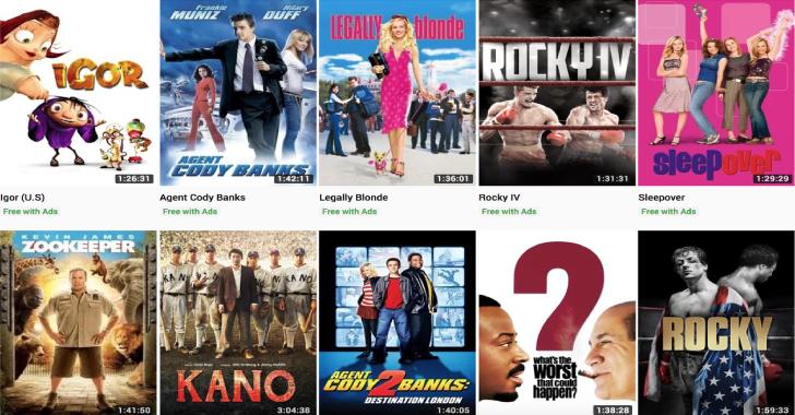 YouTube Agora está transmitindo gratuitamente filmes de Hollywood suportados por anúncios